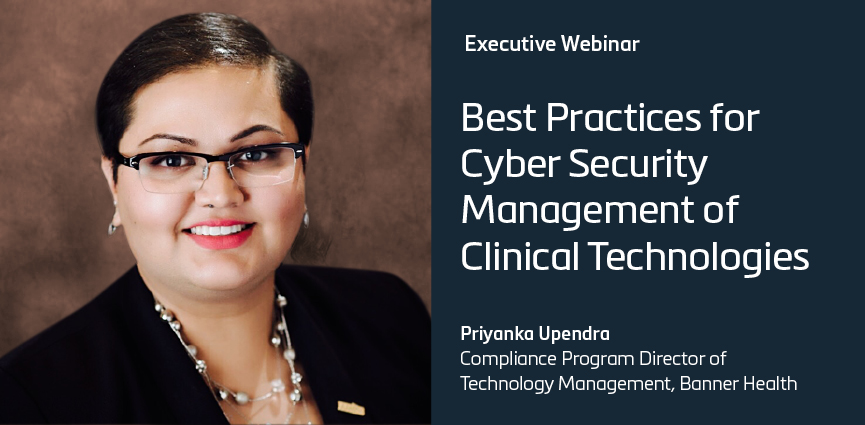 Best Practices for Cybersecurity Management of Clinical Technologies