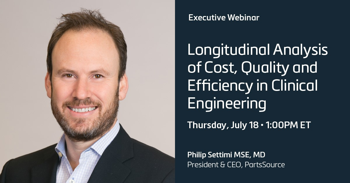 Longitudinal Analysis of Cost, Quality and Efficiency in Clinical Engineering