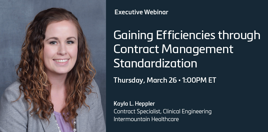 Achieving Cost-Savings and Gaining Efficiencies through Supply Chain Contract Management Standardization