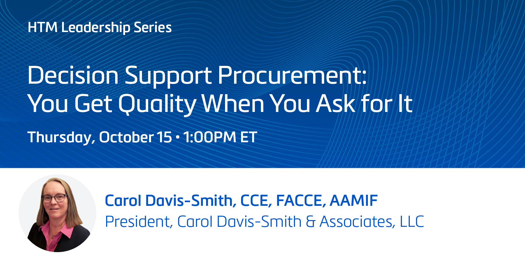 Decision Support Procurement: You Get Quality When You Ask for It