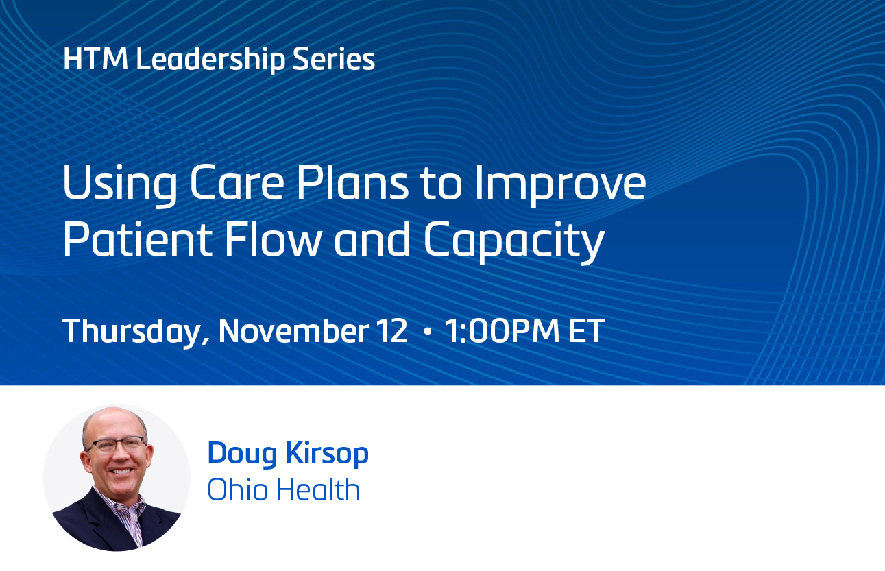 Using Care Plans to Improve Patient Flow and Capacity