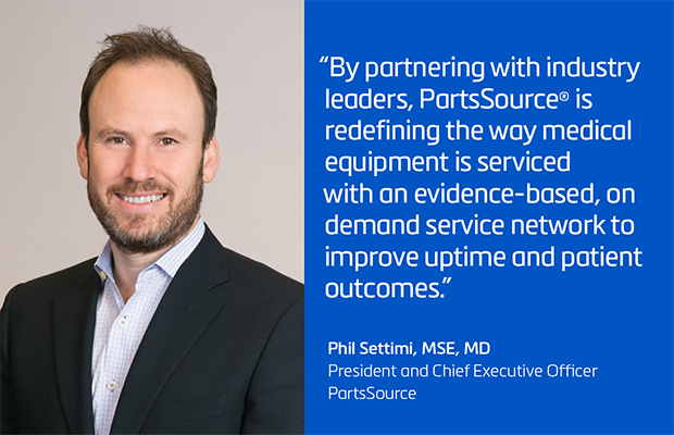 PartsSource® Introduces First-Of-Its-Kind Access to the Nation's Largest On Demand Network of Hospital Equipment Service Providers