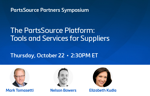 The PartsSource Platform: Tools and Services for Suppliers