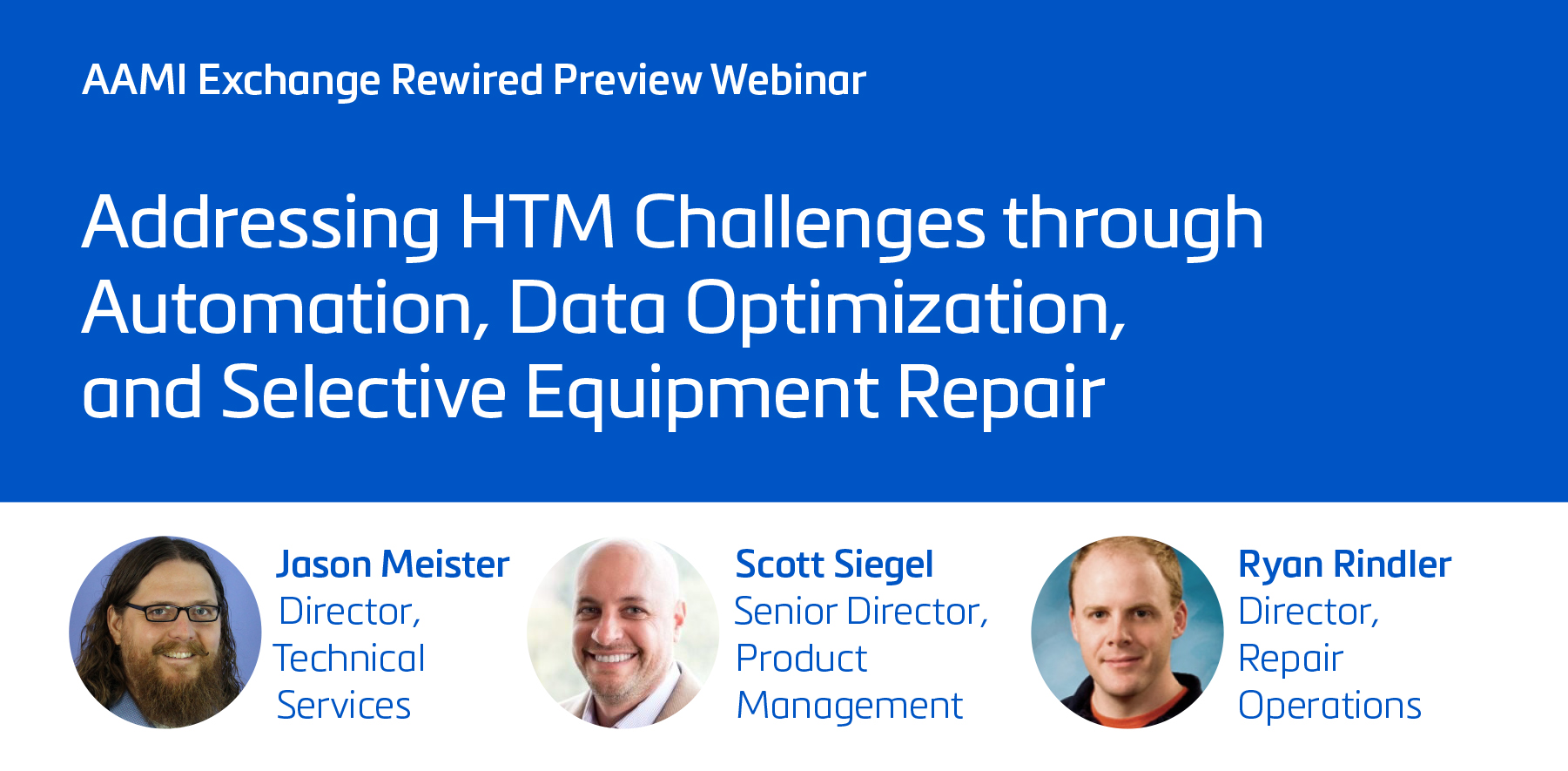 Addressing HTM Challenges through Automation, Data Optimization, and Selective Equipment Repair