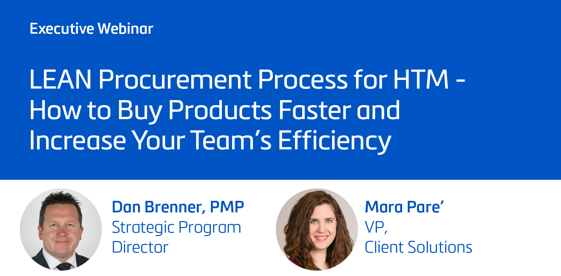 LEAN Procurement Process for HTM - How to Buy Products Faster and Increase Your Team's Efficiency
