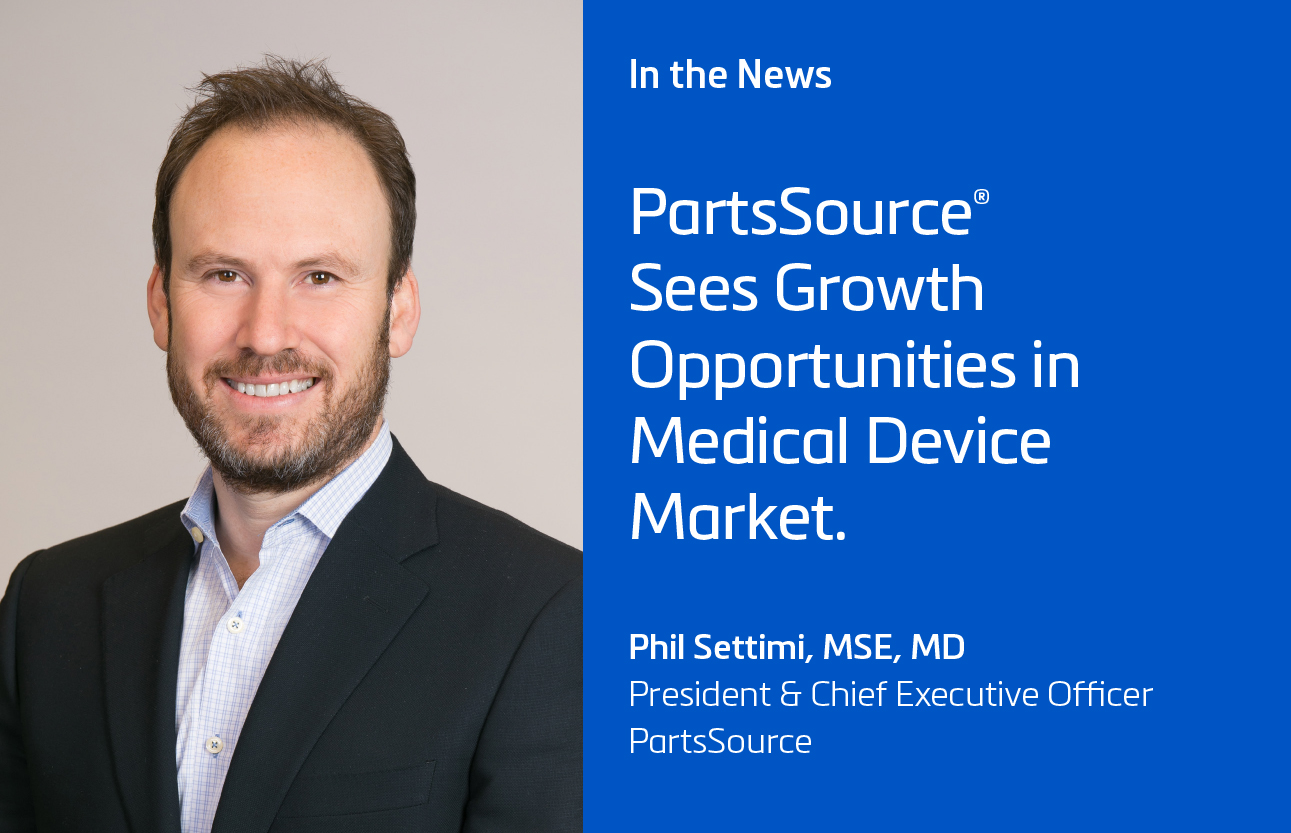 Crain's Cleveland Business: PartsSource® Sees Growth Opportunities in Medical Device Market